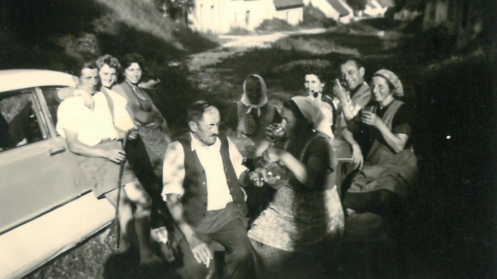 Die späten 60er in der Kellergasse.