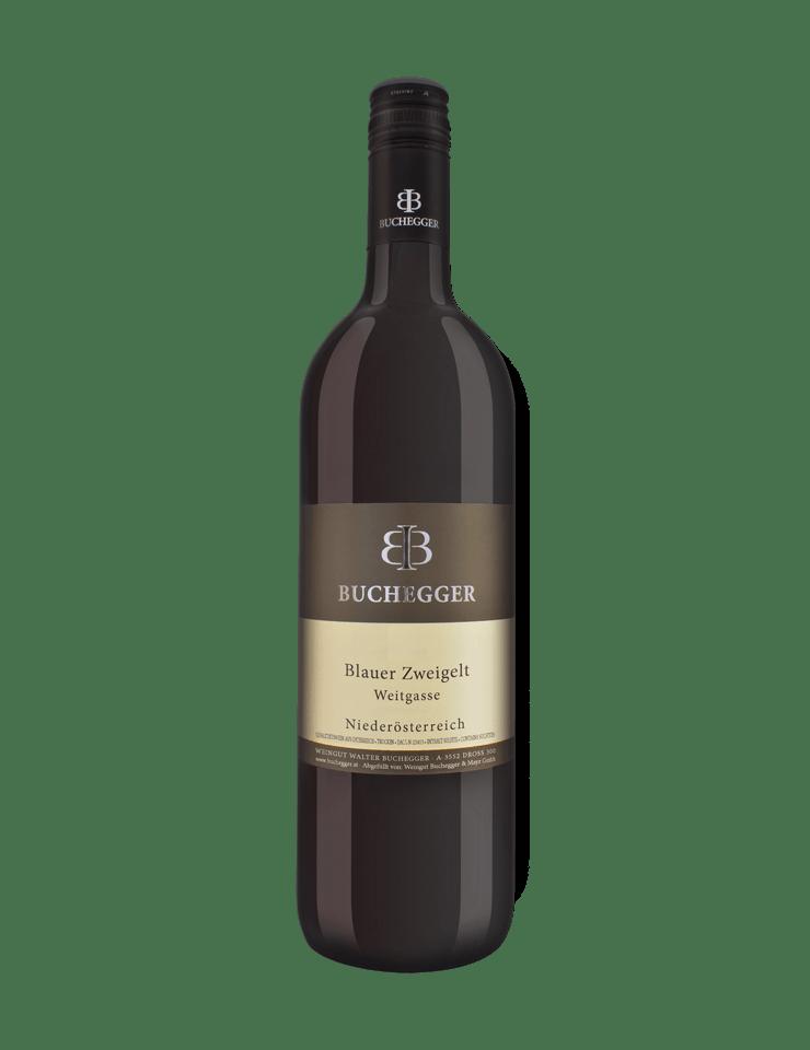 Weingut Buchegger Blauer Zweigelt Weitgasse 2017